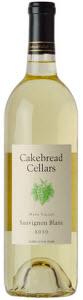 Cakebread Sauvignon Blanc 2010, Napa Valley Bottle