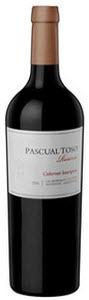 Pascual Toso Reserve Cabernet Sauvignon 2008, Mendoza Bottle