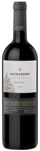 Altocedro Reserva Malbec 2009, La Consulta Vineyards, Uco Valley, Mendoza Bottle
