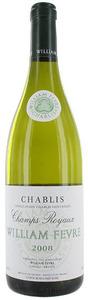 William Fèvre Champs Royaux Chablis 2008, Burgundy Bottle