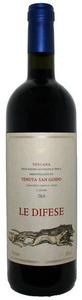 Tenuta San Guido Le Difese 2010, Igt Toscana Bottle