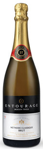 Jackson Triggs Entourage Silver Series Brut Méthode Classique Sparkling Wine 2007, VQA Niagara Peninsula, Ontario Bottle