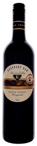Kurtz Family Boundary Row Shiraz 2008, Barossa Valley, South Australia Bottle