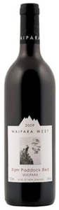 Waipara West Ram Paddock Red Cabernet Sauvignon/Cabernet Franc/Merlot 2009, Waipara Valley Bottle