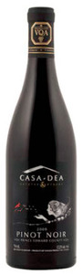 Casa Dea Pinot Noir 2009, VQA Prince Edward County Bottle