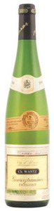 Charles Wantz Excellence Gewurztraminer 2010, Ac Alsace Bottle