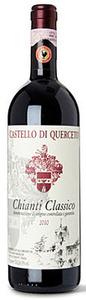 Castello Di Querceto Chianti Classico 2010, Docg Bottle