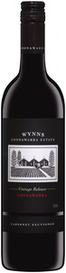 Wynns Coonawarra Estate Cabernet Sauvignon 2008, Coonawarra, South Australia, 53rd Vintage Bottle
