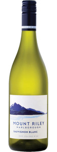 Mount Riley Sauvignon Blanc 2012, Marlborough Bottle