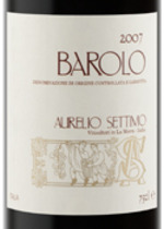 Aurelio Settimo Barolo 2007 2007 Bottle