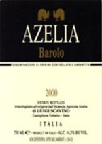Azelia Barolo 2007 2007 Bottle