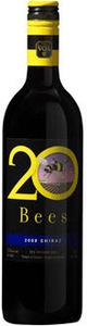 20 Bees Shiraz 2009, Ontario VQA Bottle