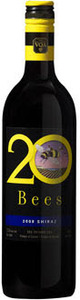 20 Bees Shiraz 2010, Ontario VQA Bottle