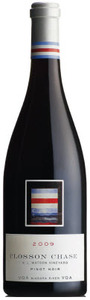 Closson Chase Pinot Noir K.J. Watson Vineyard 2009, Niagara River Bottle