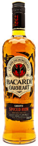 Bacardi Oakheart Spiced Rum Bottle
