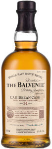 The Balvenie Caribbean Cask 14 Year Old Bottle