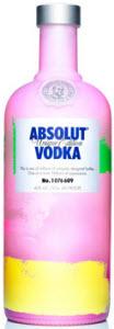 Absolut Vodka Unique Edition Bottle