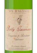 Rolly Gassmann Weingarten De Rorschwihr Sylvaner 2009, Alsace Bottle