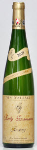 Rolly Gassmann Reserve Millesime Riesling 2008, Alsace Bottle