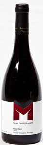 Meyer Family Pinot Noir Reimer Vineyard 2010, Okanagan Valley Bottle