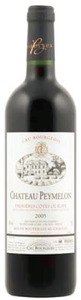 Château Peymelon 2005, Ac Premières Côtes De Blaye Bottle