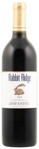 Rabbit Ridge Estate Grown Zinfandel 2010, Paso Robles Bottle
