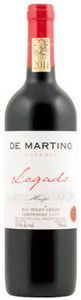 De Martino Legado Reserva Carmenère 2010, Maipo Valley Bottle