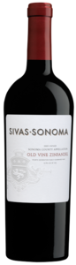Sivas Sonoma Old Vine Zinfandel 2009, Sonoma County Bottle