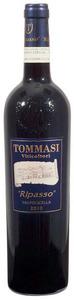 Tommasi Ripasso Valpolicella Classico Superiore 2010, Doc (375ml) Bottle