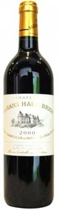 Chateau Bahans Haut Brion 2000, Ac Pessac Léognan Bottle