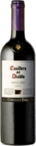 Casillero Del Diablo Merlot 2011, Rapel Valley Bottle