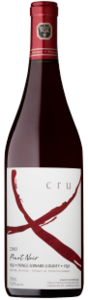 Exultet Estates Cru X Pinot Noir 2010, VQA Prince Edward County Bottle