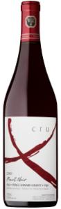 Exultet Estates Cru X Pinot Noir 2010, VQA Prince Edward County Bottle