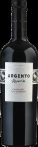 Argento Cabernet Sauvignon Reserva 2010, Mendoza Bottle