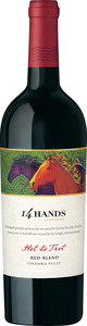 14 Hands Hot To Trot Red 2009, Washington State Bottle
