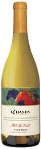 14 Hands Hot To Trot White Blend 2010, Washington Sate Bottle