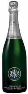 Champagne Barons De Rothschild Blanc De Blancs Brut Champagne Bottle