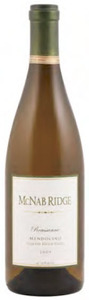 Mcnab Ridge Shadow Brook Farms Roussanne 2009, Mendocino Bottle