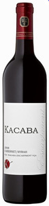 Kacaba Cabernet/Syrah Escarpment 2008, VQA Niagara Escarpment Bottle