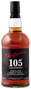 Glenfarclas 105 Cask Strength 10 Years Old Highland Single Malt Scotch Whisky (700ml) Bottle
