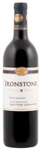 Ironstone Old Vine Zinfandel 2011, Lodi Bottle