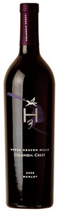 Columbia Crest H3 Merlot 2009, Horse Heaven Hills Bottle