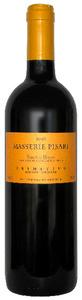 Masserie Pisari Primitivo 2010, Igt Salento Rosso Bottle