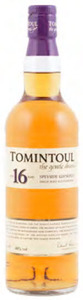 Tomintoul 16 Year Old Speyside Glenlivet Single Malt Scotch Whisky (700ml) Bottle