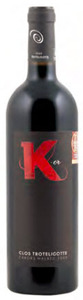 Clos Troteligotte K Or Malbec 2009, Ac Cahors Bottle
