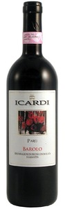 Icardi Parej Borolo 2006 Bottle