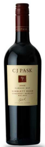 Cj Pask Gimblett Road Cabernet/Merlot/Malbec 2009, Hawkes Bay, North Island Bottle