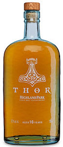 Highland Park Thor 16 Years Old Orkney Single Malt Scotch Whisky, The Valhalla Collection (700ml) Bottle