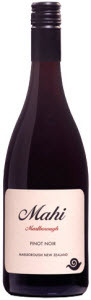 Mahi Pinot Noir 2010, Marlborough Bottle