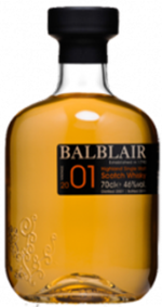 Balblair Single Highland Malt Scotch Whisky 2001 Bottle